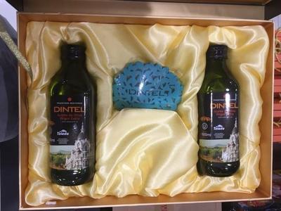 西班牙进口登鼎特级初榨橄榄油精包装礼盒装